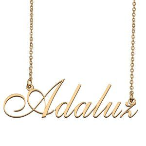 Custom Personalized Adaluz Name Necklace